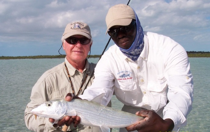 Bonefish on fly tackle
