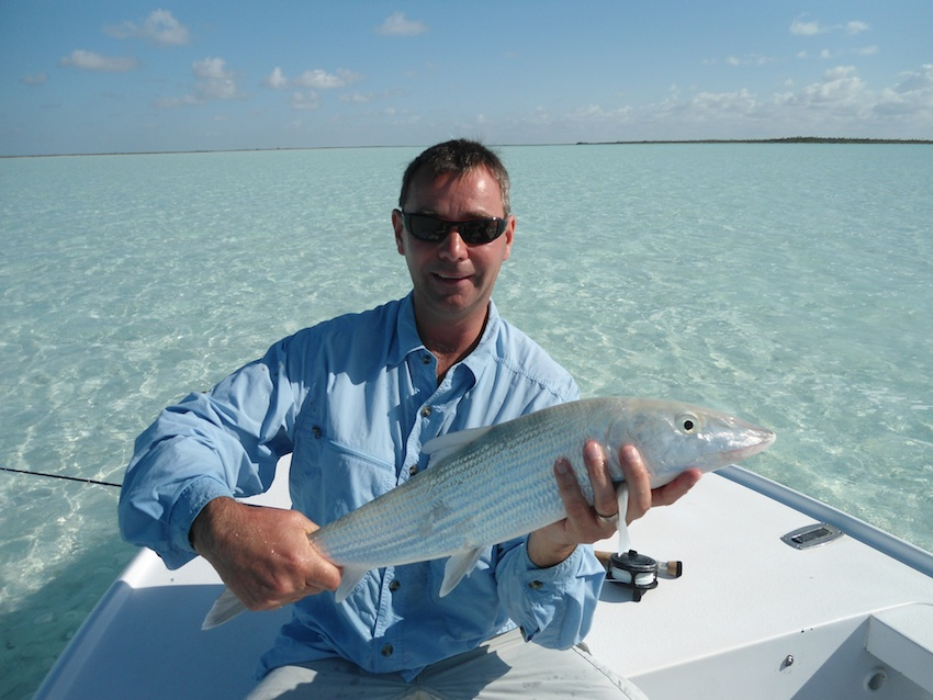 Lovely bonefish from the West Side