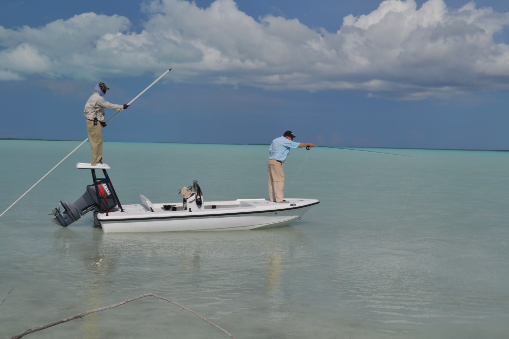 Bonefish guiding on Andros Island